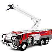 Недорогие -Игрушечные машинки Модель авто Пожарная машина Игрушки Оригинальные моделирование Автомобиль Пожарные машины Металлический сплав Металл