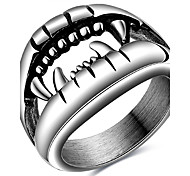 cheap -Ring Fashion Party Daily Casual Jewelry Vintage 316L Titanium Steel Men Size7 8 9 10 Stainless Steel Punk Ancient