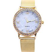 Недорогие -Жен. Нарядные часы Модные часы Наручные часы Имитационная Четырехугольник Часы Кварцевый Стразы Имитация Алмазный сплав Группа Креатив