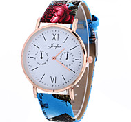 Women's Fashion Analog Stripe Ladies' Cool Display Strap Bohemia Quartz Wrist Watch