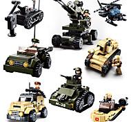 economico -Sluban Costruzioni Carro armato Creativo Classico Moderno Cartone animato Speciale Fantastico Militare Da ragazzo Giocattoli Regalo