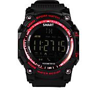 Недорогие -ituf новые спортивные EX16 умные часы зуммер звуковая сигнализация спорт монитор IP67 водонепроницаемый умные часы