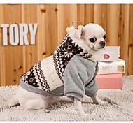 Собака Платья Одежда для собак На каждый день Спорт Английский Серый