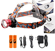 U'King Headlamps Headlight 2000 lm 3 Mode Cree XM-L T6 Adjustable Focus Compact Size Easy Carrying High Power Multifunction for