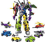 Недорогие -ENLIGHTEN Робот Конструкторы Игрушки Игрушки Воин Машина Робот Армия трансформируемый Мальчики Девочки 506 Куски