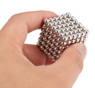 cheap -Magnet Toy Building Blocks Neodymium Magnet Magnetic Balls Executive Toys 216pcs 5mm Magnet Magnetic Toy Adults' Gift