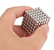 Недорогие -Магнитные игрушки Конструкторы Неодимовый магнит Магнитные шарики 216 Куски 5mm Игрушки Магнит Магнитный Подарок