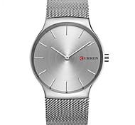 CURREN Men's Fashion Watch Quartz / Alloy Band Casual Minimalist Silver Gold