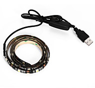 BRELONG USB 90CM 6.5W 500LM DC5V 5050 27 Lamp Waterproof IP65 Cool White TV / Laptop background light