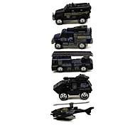 Playsets автомобиля Модели автомобилей Игрушечные машинки Пожарная машина Игрушки Автомобиль Металлический сплав Металл Классический и