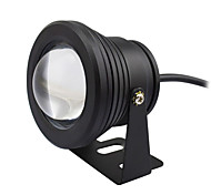 1pc 10W Underwater Lights Waterproof Decorative Outdoor Lighting Warm/Cold White AC/DC12V