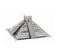 Недорогие -3D пазлы Пазлы Металлические пазлы Наборы для моделирования Игрушки Башня Знаменитое здание Архитектура 3D Своими руками Металл Дети Куски
