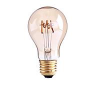 cheap -1pc 4W 1000lm E26 / E27 B22 LED Filament Bulbs G60 1 LED Beads COB Dimmable Warm White 110-130V 220-240V