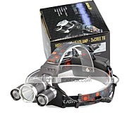 U'King Headlamps LED 4000 Lumens 4 Mode Cree XP-G R5 Cree XM-L T6 Batteries not included Compact Size Easy Carrying for