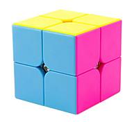 Недорогие -Кубик рубик 2*2*2 Спидкуб Кубики-головоломки головоломка Куб профессиональный уровень Скорость ABS Квадратный Новый год День детей Подарок