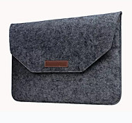 "Sleeve for Macbook 13"" Macbook Air 11"" Macbook Pro 13""/15"" Solid Color Carbon Fiber Material New Fashion Soft Sleeve Bag Case"