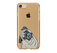 For Transparent Pattern Case Back Cover Case Cute Lovely Dog Soft TPU for IPhone 7 7Plus iPhone 6s 6 Plus iPhone 6s 6 iPhone 5s 5 5E 5C