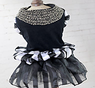cheap -Cat Dog Dress Dog Clothes Cute Princess White/Black Costume For Pets
