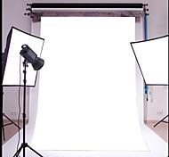 3x5ft простой белый тонкий винил фотографии фон студия проп фото фон