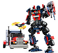 cheap -GUDI Robot Toy Car Building Blocks 377pcs Warrior Machine Robot Transformable Creative Classic & Timeless Elegant & Luxurious Glamorous &