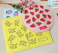 Собака Чехол для сидения автомобиля Животные Коврики и подушки Фрукты Водонепроницаемость Складной Желтый Синий Розовый Для домашних