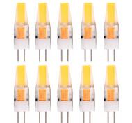 economico -YWXLIGHT® 10 pezzi 2W 150-200 lm G4 Luci LED Bi-pin T 1 leds COB Decorativo Bianco caldo Luce fredda AC 12V DC 12-24V
