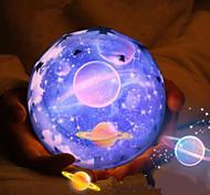 1шт магия проекта лампа ромб ночник привел проектор звезды 3 цвета меняется USB зарядки прикроватного ночника проектора