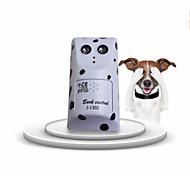 Cane Addestramento Elettronica Kit comportamentale Ultrasuono Portatile Senza fili Anti Bark Silenzioso Bianco