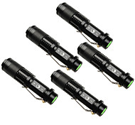 U'King LED Flashlights / Torch LED 1500 lm 3 Mode Cree XP-E R2 Adjustable Focus Zoomable for Camping/Hiking/Caving Everyday Use Outdoor