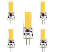 Недорогие -ywxlight® 3w g4 светодиодные двухконтактные лампы 1 светодиод cob dimmable декоративный теплый белый холодный белый 200-300lm ac 12 dc 12-24v