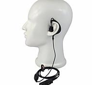 abordables -365 accessoires walkie-talkie casque g-shape pour motorola xir p6600 / 6620 xpr 3300/3500 accessoires microphone radio