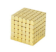 Недорогие -Магнитные игрушки Кубики-головоломки Неодимовый магнит Устройства для снятия стресса 250 Куски 5mm Игрушки Магнитный Квадратный Подарок