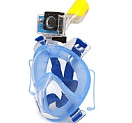 Snorkeling Packages Snorkel Mask Full Face Masks Diving / Snorkeling Scuba PVC Plastic silicone-WINMAX