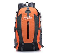 50 L Backpack Traveling Camping & Hiking Waterproof Quick Dry Rain-Proof Waterproof Zipper Dust Proof Wearable Moistureproof Compact500D