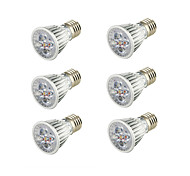 cheap -6pcs 5W 400-450lm E26 / E27 LED Spotlight B 5 LED Beads COB Decorative Warm White 85-265V