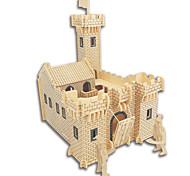 Набор для творчества 3D пазлы Пазлы Пазлы и логические игры Игрушки Квадратный Замок Знаменитое здание Китайская архитектура Лошадь Муж.