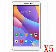 5 pc per 8 schermo hd pro protezione protezione huawei MediaPad t2 pellicola protettiva per i supporti huawei pad m2-801w