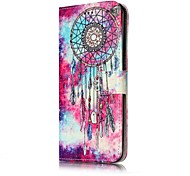For Samsung Galaxy S7 S8 Case Cover Dream Catche Pattern Painted Card Holder PU Leather Material Mobile Phone Case S5 S6 S7Edge S6Edge