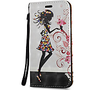 cheap -Case For Samsung Galaxy S8 Plus S8 Card Holder with Stand Flip Magnetic Pattern Full Body Cases Sexy Lady Hard PU Leather for S8 Plus S8