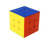 Недорогие -Кубик рубик Shengshou 3*3*3 Спидкуб Кубики-головоломки головоломка Куб Гладкий стикер Квадратный Подарок Универсальные