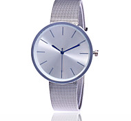 New Fashion Silver And Rose Gold Mesh Band Wrist Watch Casual Women Quartz Watches Gift Relogio Feminino