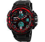 cheap -SKMEI 1148 Men's Woman Watch Double Significant Outdoor Sports Watch Mountain Climbing Waterproof Electronic Watch Male LED Students Multi - Function