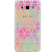 For Samsung Galaxy J7 Prime J5 Prime Geometric Pattern Soft TPU Material Phone Case for J3Prime J2Prime J510 J310 G530 G360