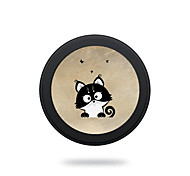 Portable  5V 2A Black Cat  Wireless Charging Pad/Stand for All QI-Enabled Devices Samsung Galaxy S7  S7 Edge S6   S6 EdgeGoogle Nexus 4  5