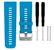 For Garmin Vivoactive HR Fashion Watch Straps Silicone Strap Replacement Watch Band with Tools