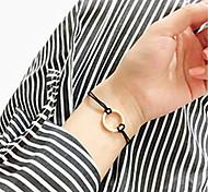 Недорогие -Жен. Браслеты-цепочки и звенья - Мода Геометрической формы Черный Коричневый Браслеты Назначение Для вечеринок Особые случаи День рождения