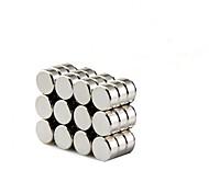 8x3mm cylindre cylindrique aimants profondément diy personnalisé multi-usage pour porte-réfrigérateur tableau blanc carte magnétique écran