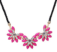 Women's Statement Necklaces Flower Acrylic Unique Design Flower Style Flowers Floral Jewelry For Party Daily Casual