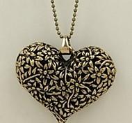 Men's Women's Pendant Necklaces Chain Necklaces Jewelry Heart Owl Alloy Basic Unique Design Dangling Style Animal Design Rhinestones