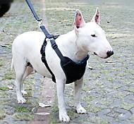 Недорогие -Собака Ремни Поводки Собачья упряжка для использования в авто/Собачья упряжка для безопасности Регулируется / Выдвижной Дышащий Для
